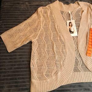 Leo & Nicole Shrug Sweater XXL NWT
